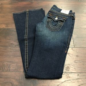 True Religion Joey Style 10-593L Size 26 USED